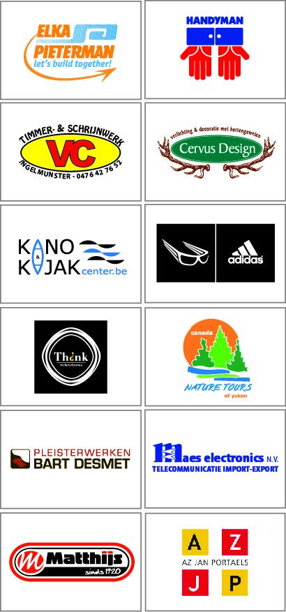 Onze sponsors 2013